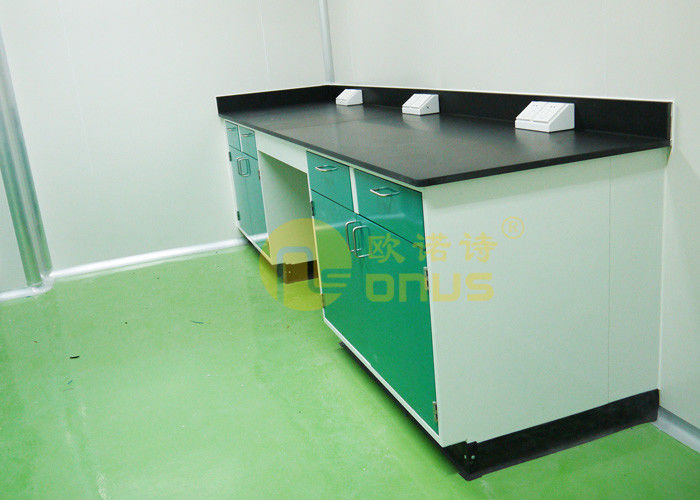 1000 * 750mm Chemical Resistant Table Tops With Chemical / Heat Resistant