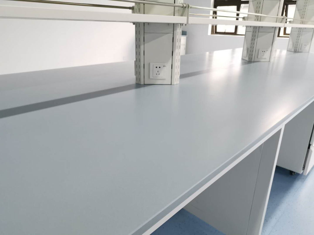 Epoxy Resin Laboratory Worktops Flat Sheet Bevel Edge 2480 * 1580mm